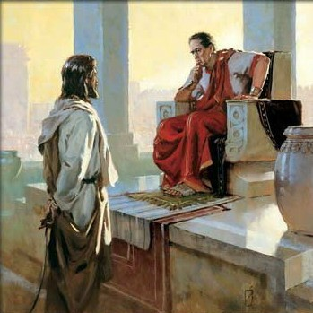 Jesús frente a Poncio Pilatos